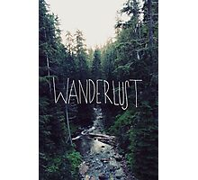 Wanderlust Rainier Creek Photographic Print