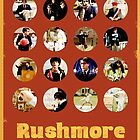 Rushmore featuring the many faces of Max Fischer by isabelgomez