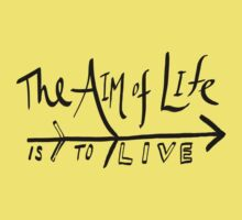 The Aim of Life Kids Clothes