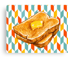 Butter Toast Canvas Print