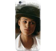 Keira Knightley fanart digital painting  iPhone Case/Skin