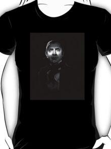 Bela Lugosi dracula - black and white digital painting T-Shirt