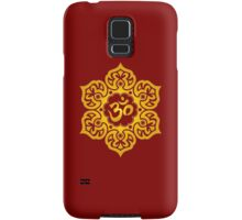 Yellow Lotus Flower Yoga Om Samsung Galaxy Case/Skin