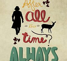 Always - Harry Potter by Mithila Ananth