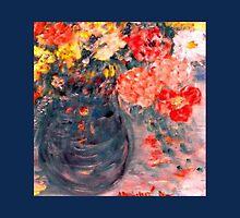 Flowers in Slate Vase Home Decor & Gifts by innocentorigina