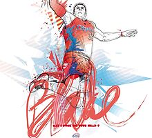 Blake Griffin - NBA- LA CLIPPERS by merley mickael
