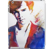 Sherlock - Splash of Colour iPad Case/Skin