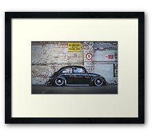 VW Beetle Bus Camper Classics 4 Framed Print