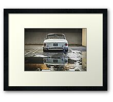 VW Beetle Bus Camper Classics 5 Framed Print