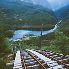 Funicular railway in Norway by Andrey Serdyuk