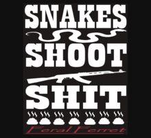 Snakes Shoot Shit (Invert) by FeralFerret