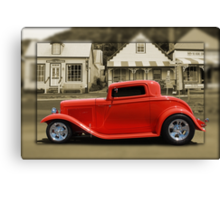 3 Window Coupe Canvas Print