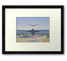 Airbus Frenzy - Farnborough 2014 Framed Print