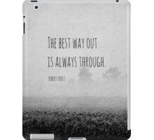 Way Robert Frost iPad Case/Skin