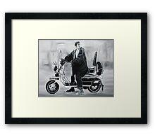 Quadrophenia Jimmy Framed Print