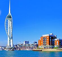 The Spinnaker Tower Portsmouth by Colin J Williams Photography