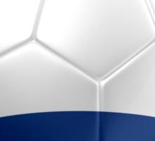 Netherlands - Dutch Flag - Football or Soccer 2 Sticker