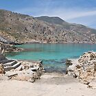 Ombrosgialos Cove #2 ~ Greece by Sheila Laurens
