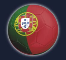 Portugal - Portuguese Flag - Football or Soccer 2 Kids Clothes
