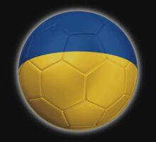 Ukraine - Ukrainian Flag - Football or Soccer 2 Kids Clothes