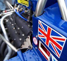 Historic F1 Car with Union Jack by PhotosBySJ