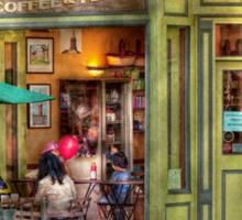 Cafe - Hoboken, NJ - Empire Coffee & Tea Sticker