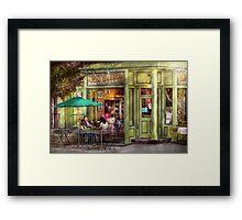 Cafe - Hoboken, NJ - Empire Coffee & Tea Framed Print