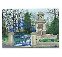 Horsforth Leeds Cenotaph Photographic Print