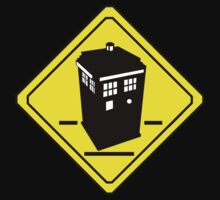 TARDIS Crossing by zenjamin