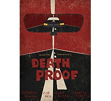 Death Proof Movie Poster Photographic Print
