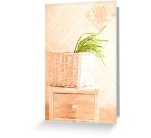 Wild Asparagus Provence Style Greeting Card