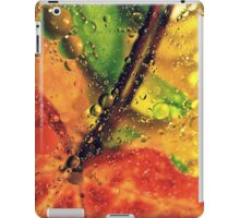 Wet Red Maple  iPad Case/Skin