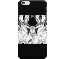 stag in nature cold iPhone Case/Skin