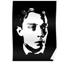Buster Keaton Stares Off In The Distance Poster