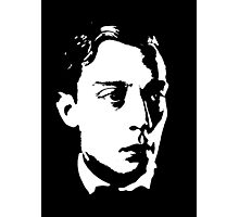 Buster Keaton Stares Off In The Distance Photographic Print