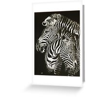 Duel Greeting Card