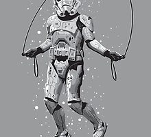 STORMTROOPER SKIPPING by MEDIACORPSE