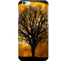 Tree and Moon  iPhone Case/Skin