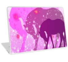 Pink Horses Design  Laptop Skin