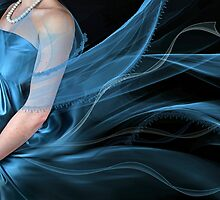 Ribbons and lace by Lyn Evans