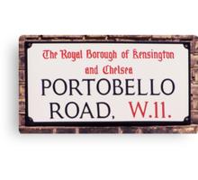 Portobello Road Canvas Print