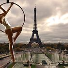 Acrobatics over Paris by Carnisch