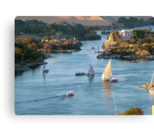 Cataracts of the Nile Egypt Canvas Print