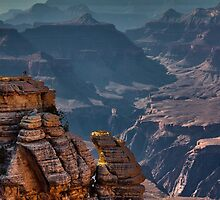 Grand Canyon, Mather Point, Arizona by LudaNayvelt