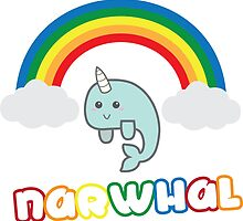 The Cutest Narwhal by kaetothelyn