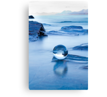 Blue crystal II Canvas Print