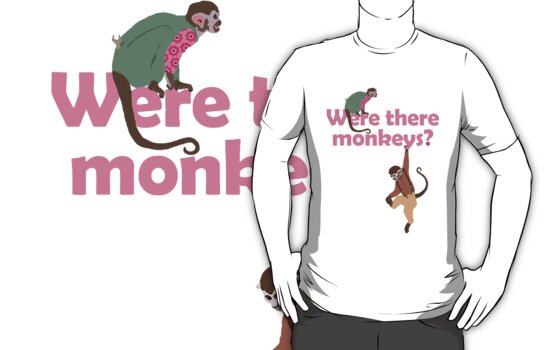 Were there monkeys? (pink) by PurpleSparklies