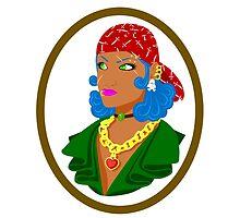 Yharrrrr Tough Pirate girl by krls