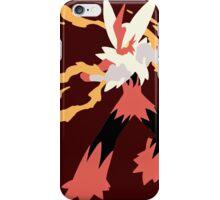 Mega Blaziken Case iPhone Case/Skin