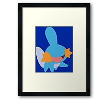 Happy Mudkip Framed Print